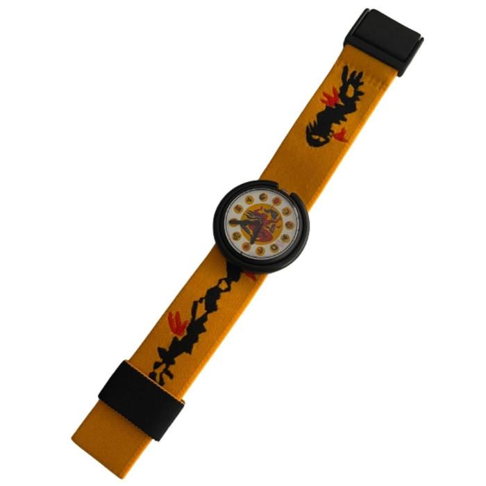Swatch Pop Swatch PWB150 Patchwork Vintage Unisex Fashion Watch - front