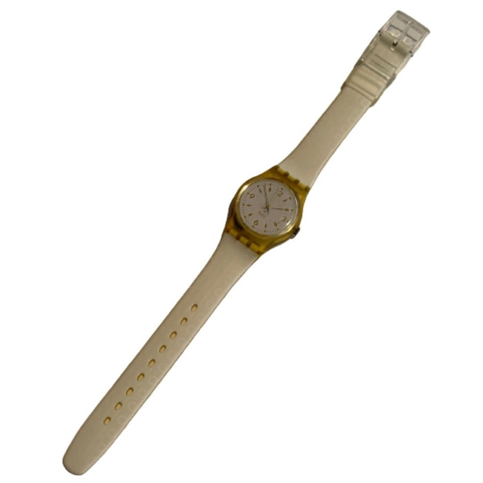 Swatch LK123 Golden Bride Women's Vintage Fashion Watch - front