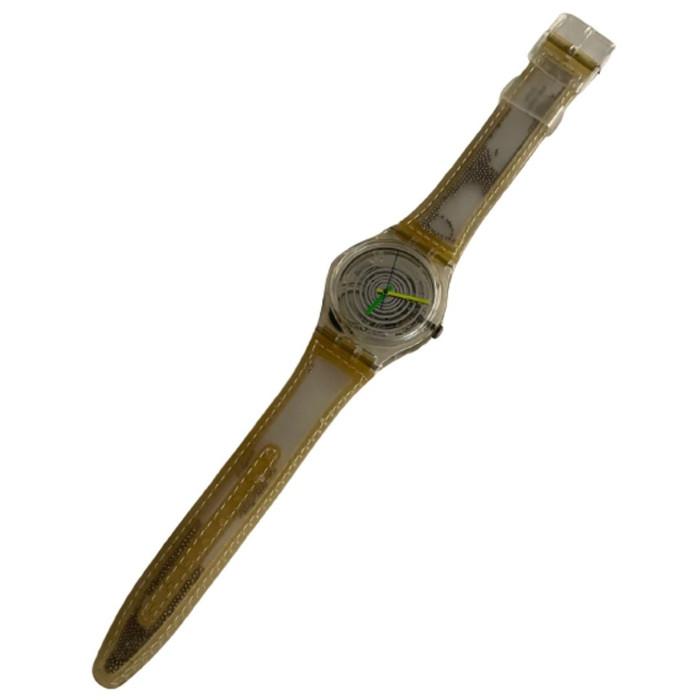 Swatch GK197 Spinning Balls Vintage Unisex Fashion Watch - front