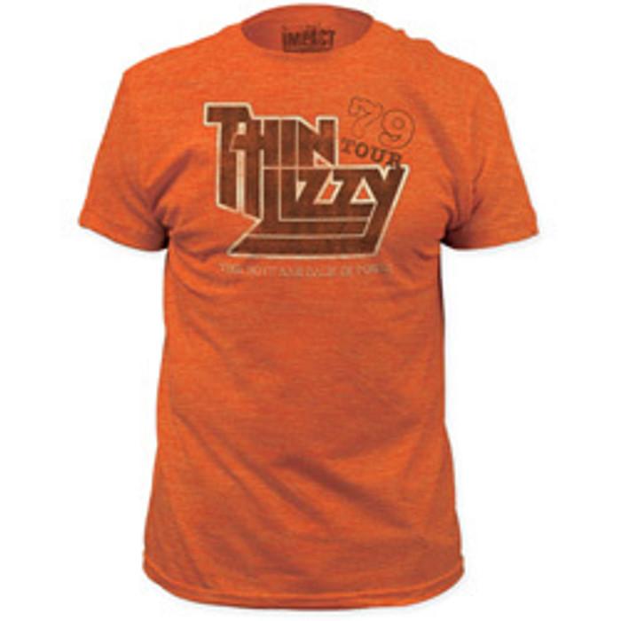 f841a87b9e9 Thin Lizzy 1979 US Concert Tour Men s Vintage T-shirt