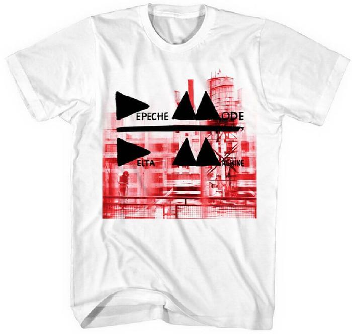 Depeche Mode Delta Machine Album Cover Artwork Men's White T-shirt