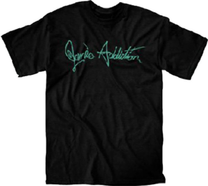 Jane's Addiction Classic Logo Men's Black T-shirtJane's Addiction Classic Logo Men's Black T-shirt