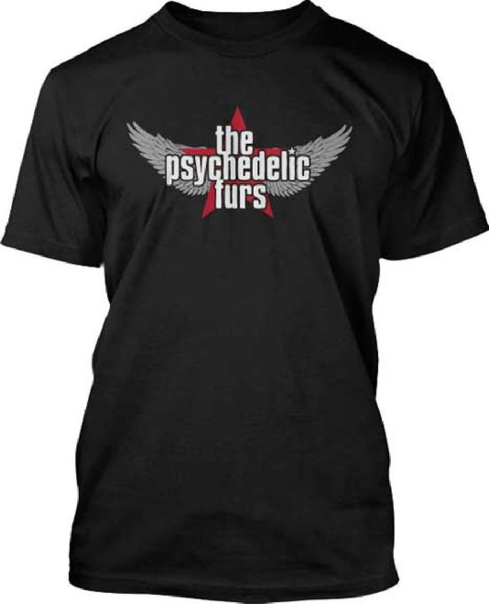 The Psychedelic Furs Logo Men's Black T-shirt