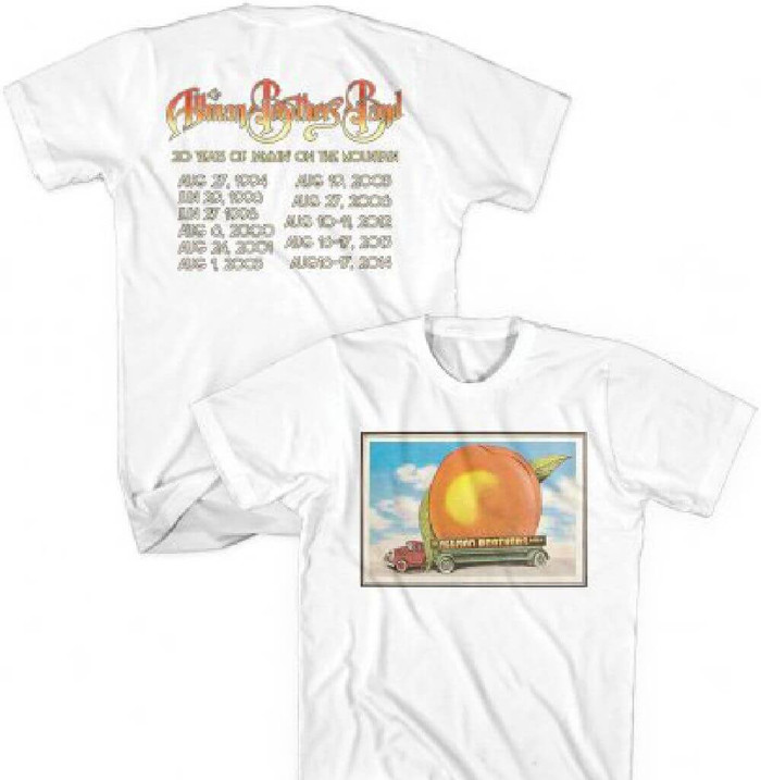 84fd7a88be8 The Allman Brothers Band Eat a Peach Album Cover 20 Years of Jammin  on the