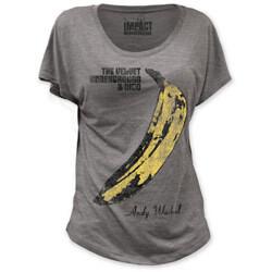 The Velvet Underground /& Nico Womens Long Sleeve Crew Neck Cotton T-Shirt Casual Slim Fit Basic Baseball Raglan Shirt