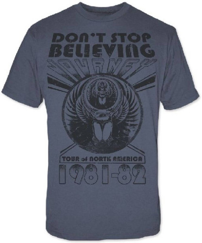 472a93264b Journey Vintage Concert T-Shirt - Don t Stop Believing 1981-1982 North