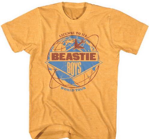 Rock Off The Beastie Boys T Shirt Licensed to Ill Tour 1987 Nouveau Officiel Homme