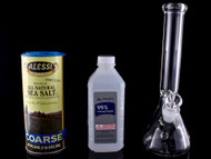 Three Simple Ways To Clean A Glass Bong, Bubbler Or Dab Rig