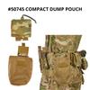 50745 compact dump pouch