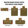 50730 dump pouch with 50731 ifak insert
