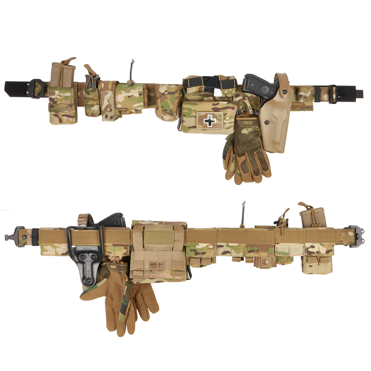 Fully kitted LAB Tactical Belt
