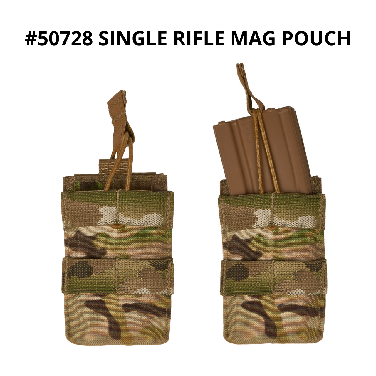 50728 single rifle mag pouch