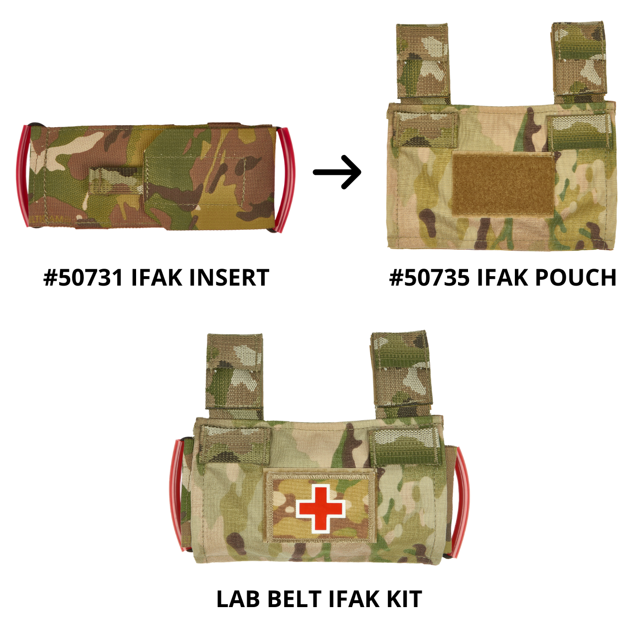 50731 ifak insert with 50735 ifak pouch