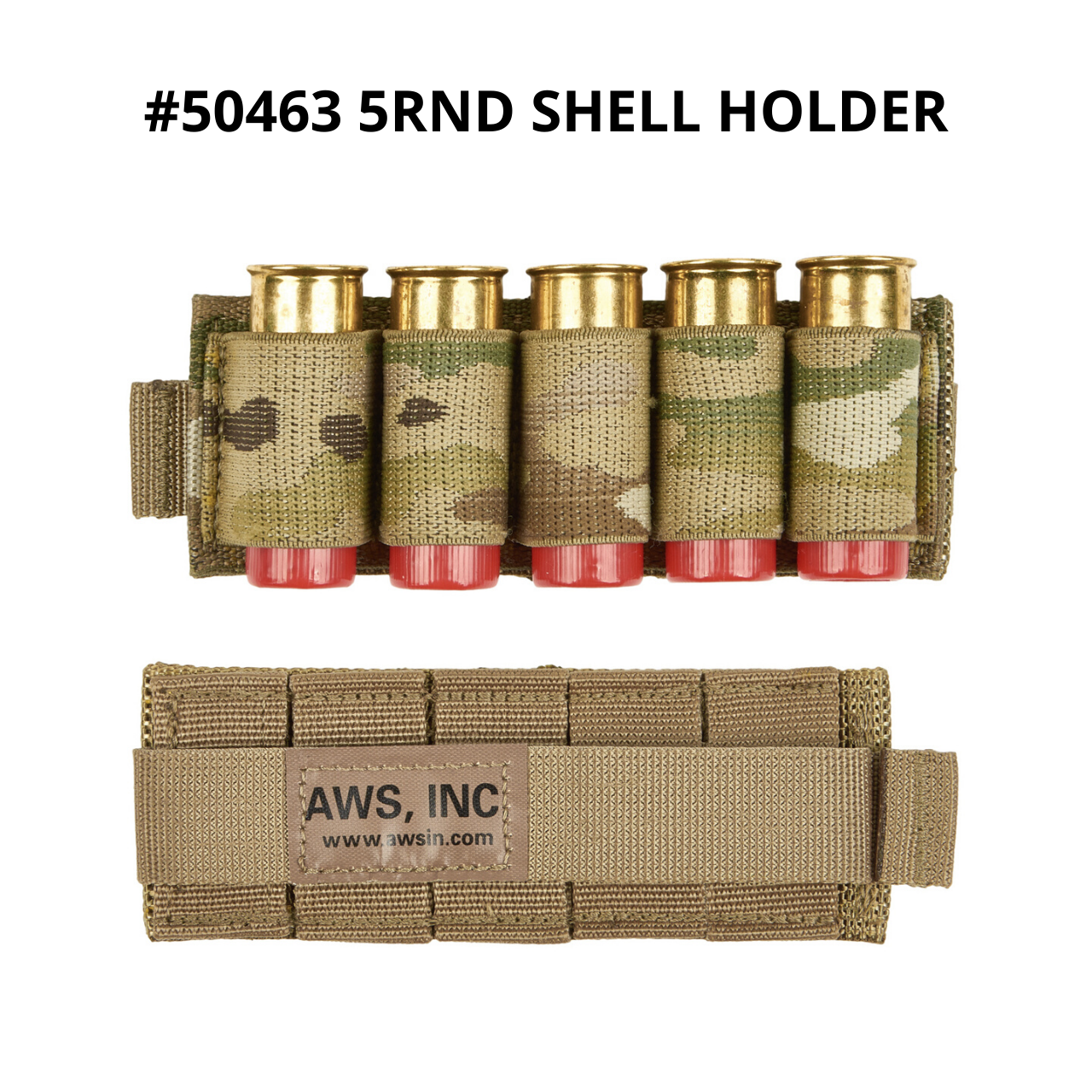 50478 5rnd molle shell holder