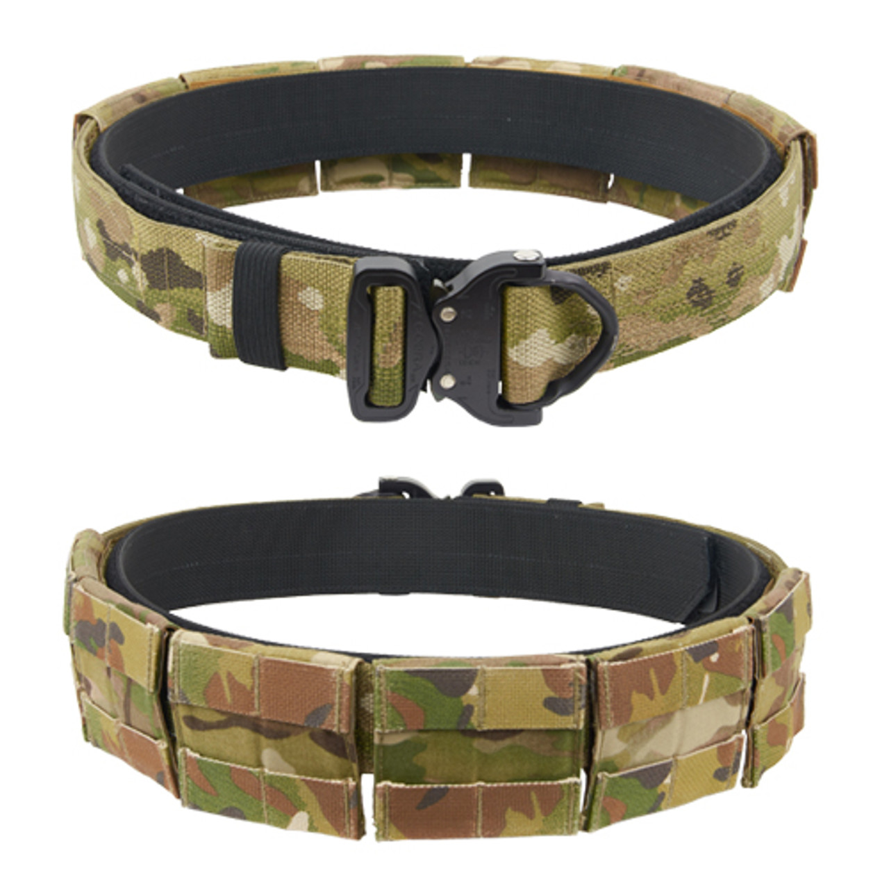 US ARMY STYLE COMBAT BELT NEW QUICK RELEASE ASSAULT WEB PISTOL STYLE SECURITY