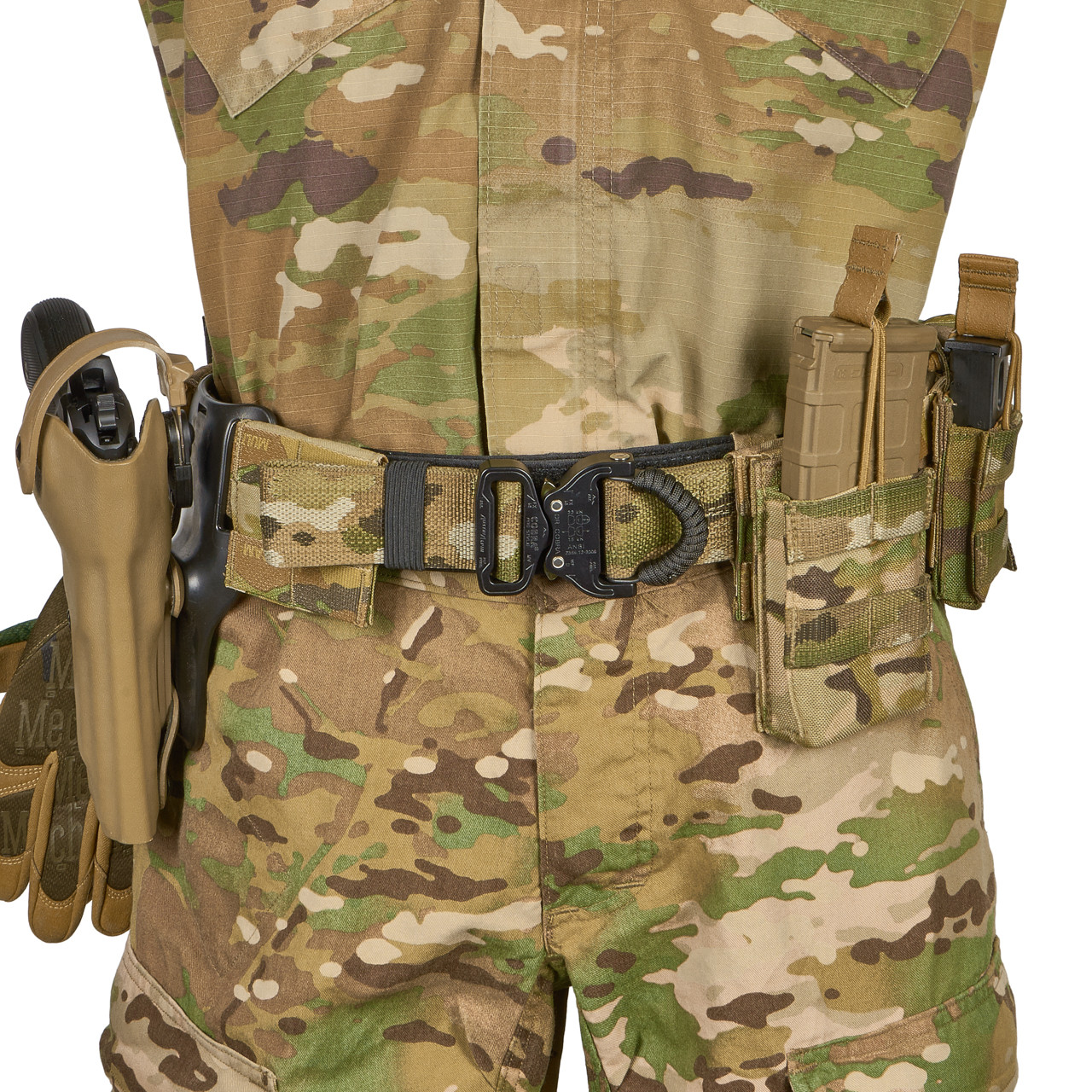 50725 Light Assault Belt (LAB) Belt Kitted Front View