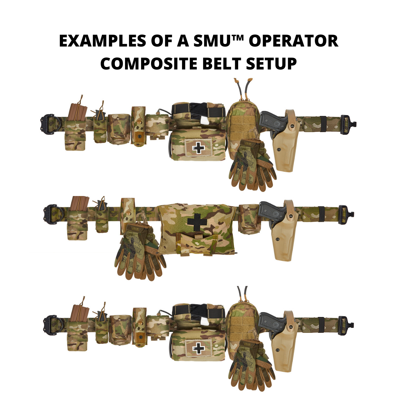 SMU™ OPERATOR COMPOSITE MOLLE BELT SET