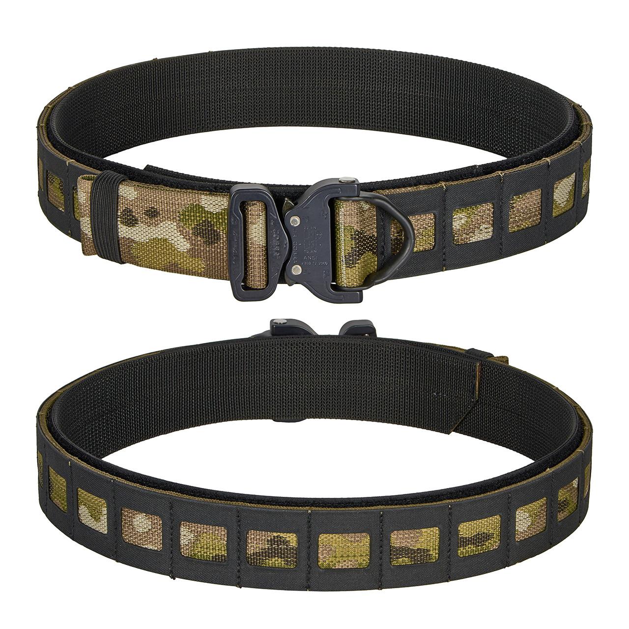 Multicam with Black Composite Material SMU Belt