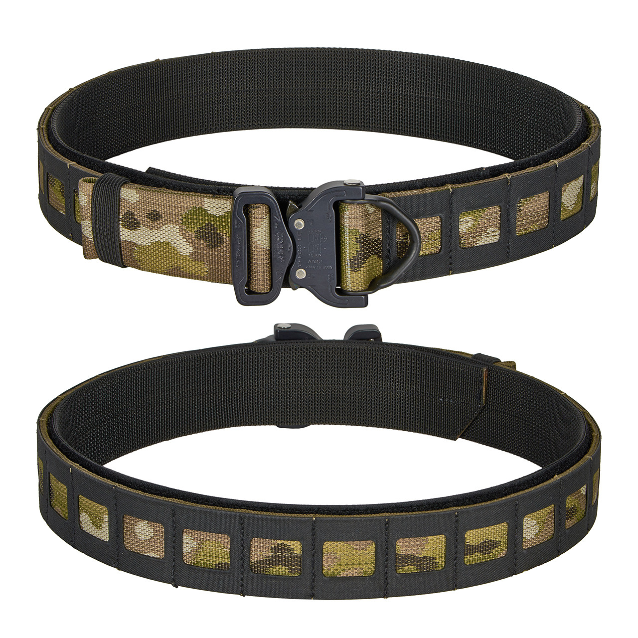 Multicam with Black Composite Material SMU Belt
