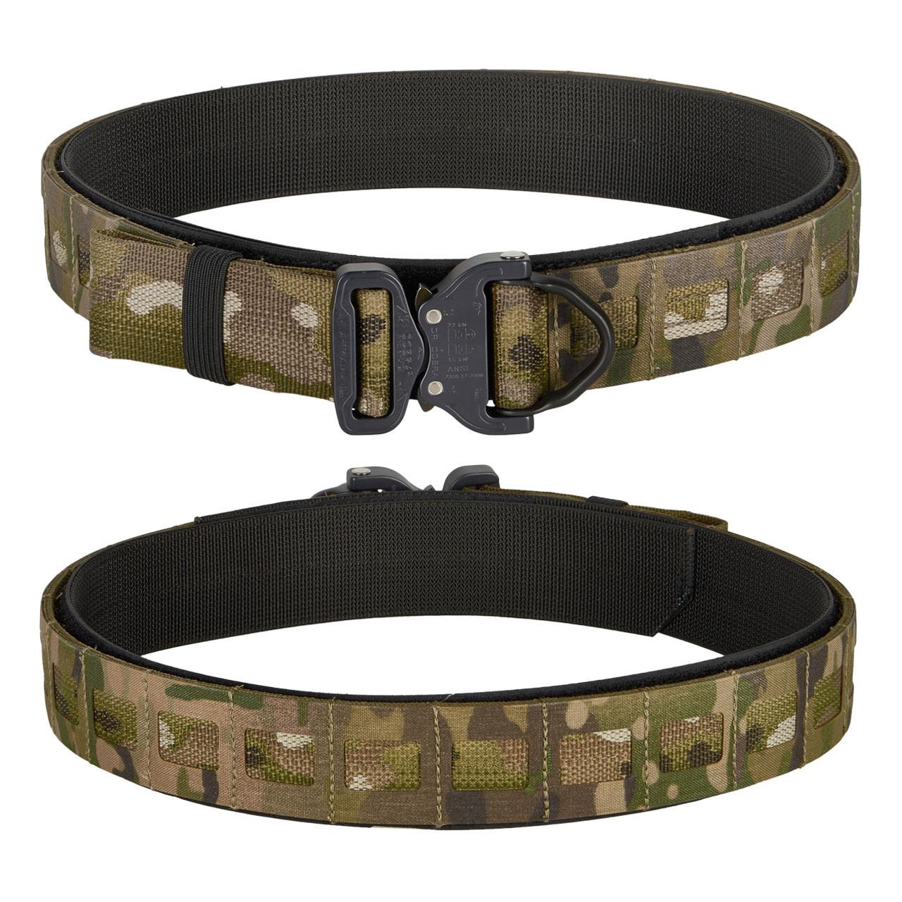 multicam laser cut molle tactical belt