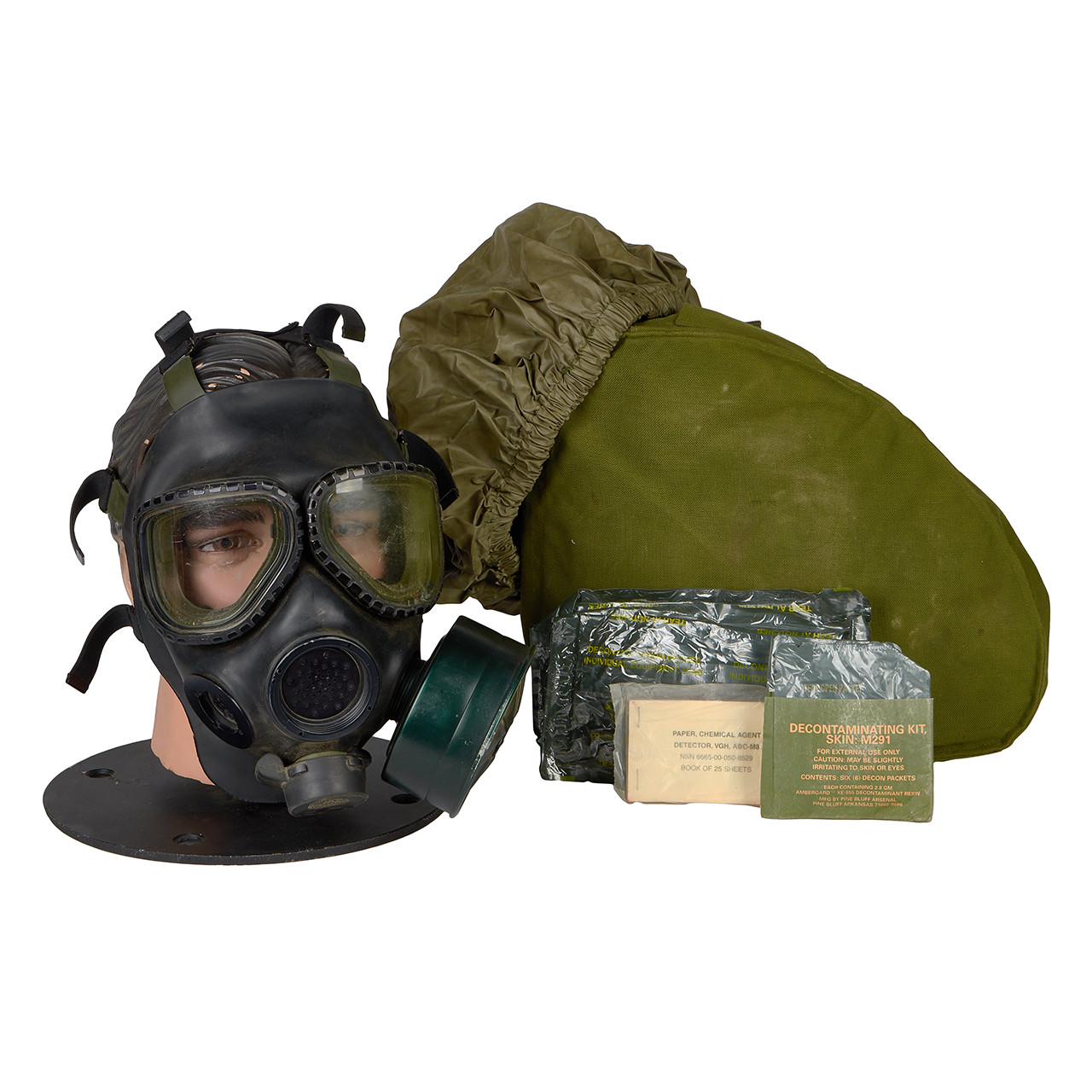 GM20 M40 SERIES G.I. ISSUE GAS MASK