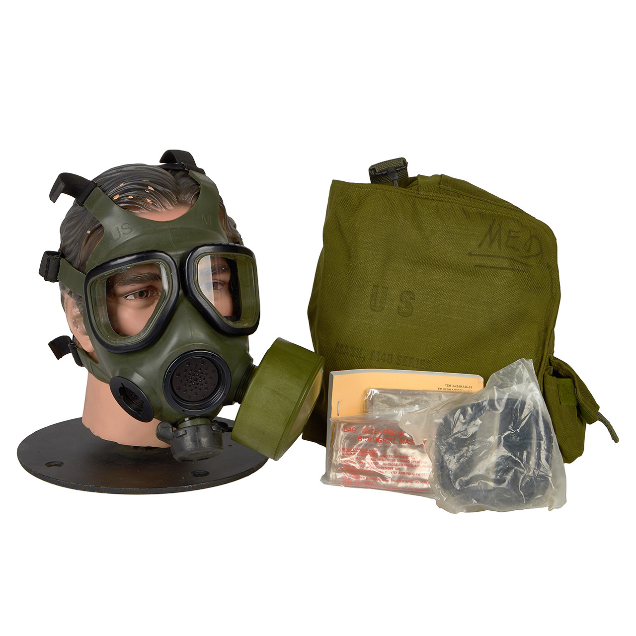 GM40 M40 SERIES G.I. ISSUE GAS MASK