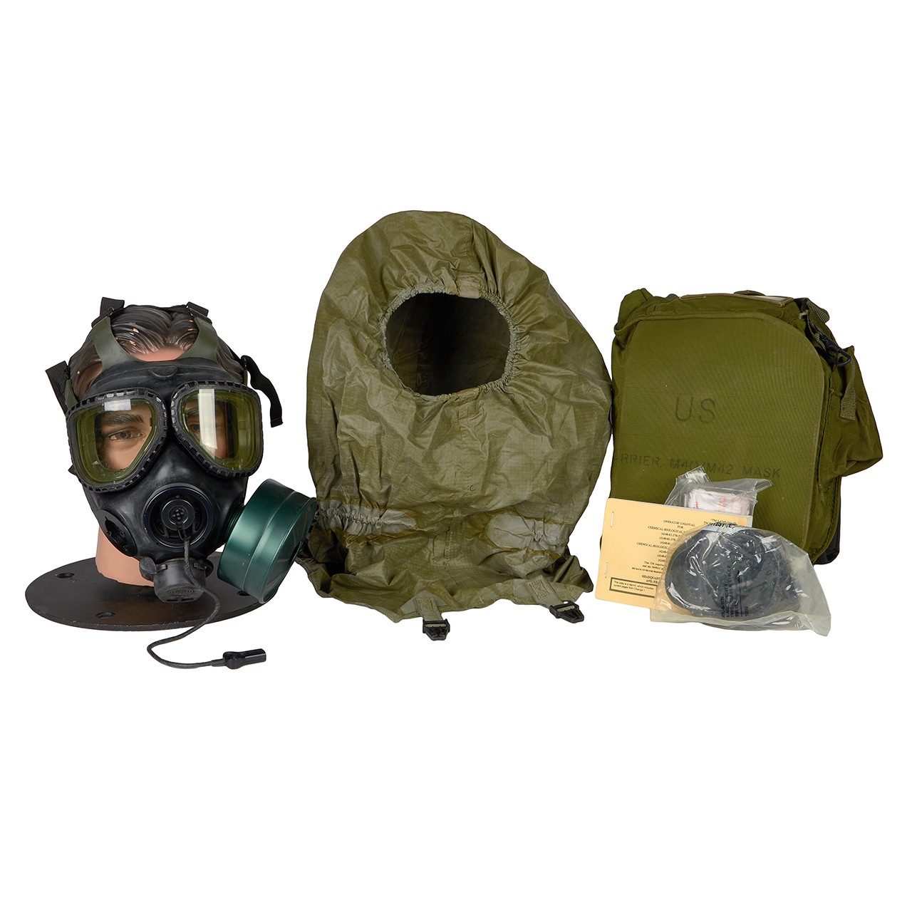 GM72 M40 SERIES G.I. ISSUE GAS MASK