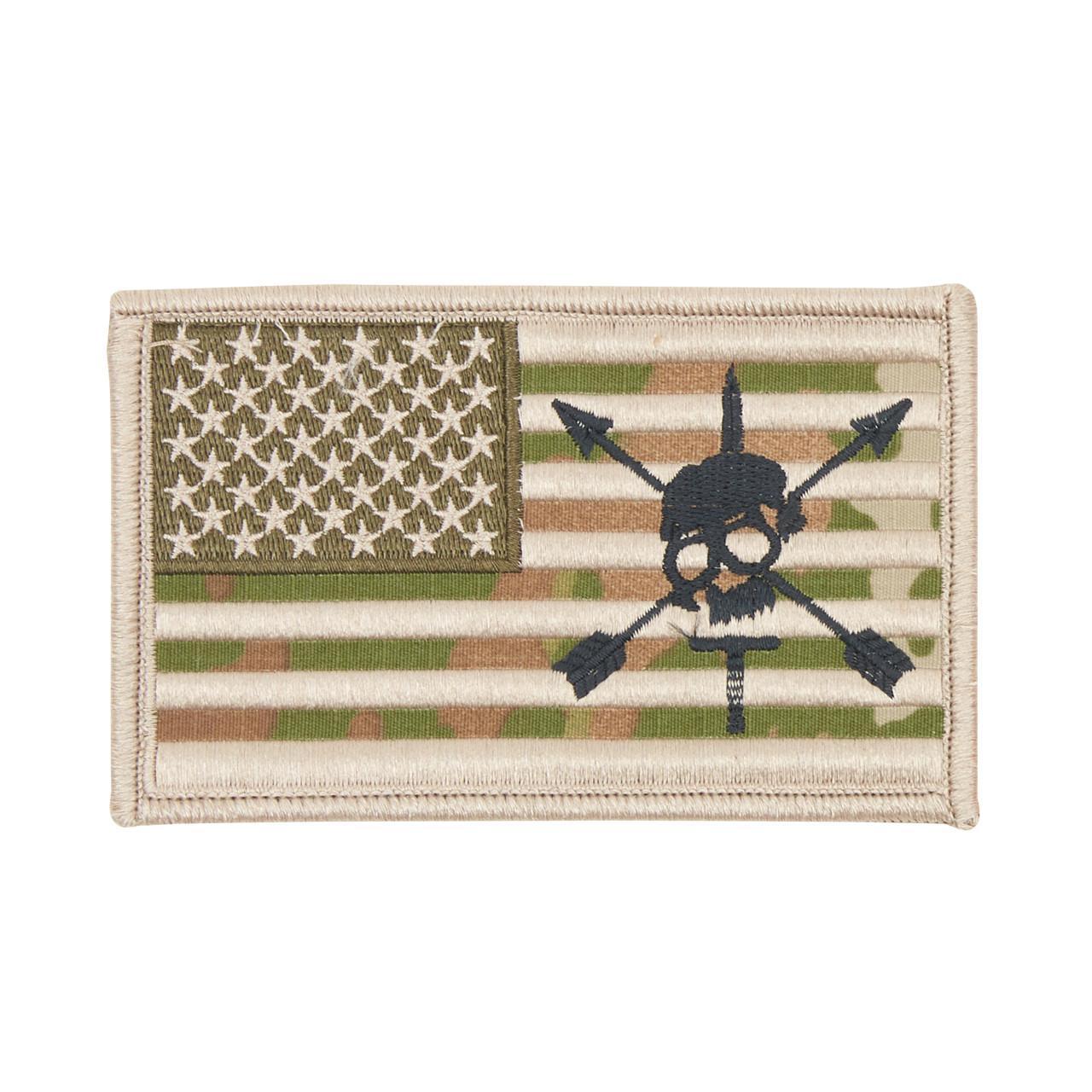 52698 LARGE MULTICAM SPECIAL FORCES FLAG PATCH
