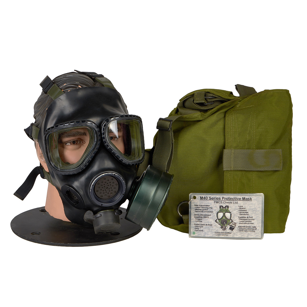 GM01 M40 SERIES G.I. ISSUE GAS MASK
