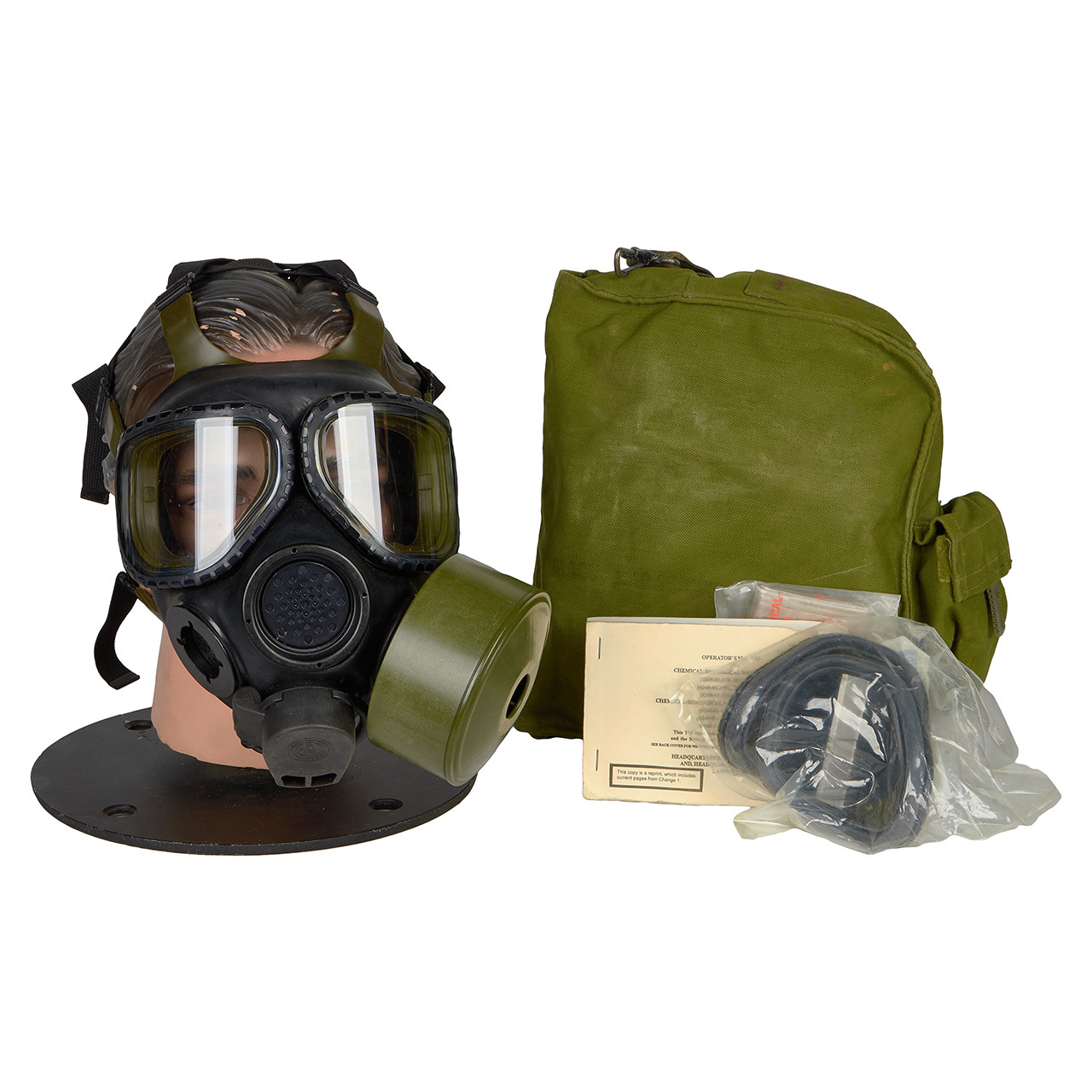 GM26 M40 SERIES G.I. ISSUE GAS MASK