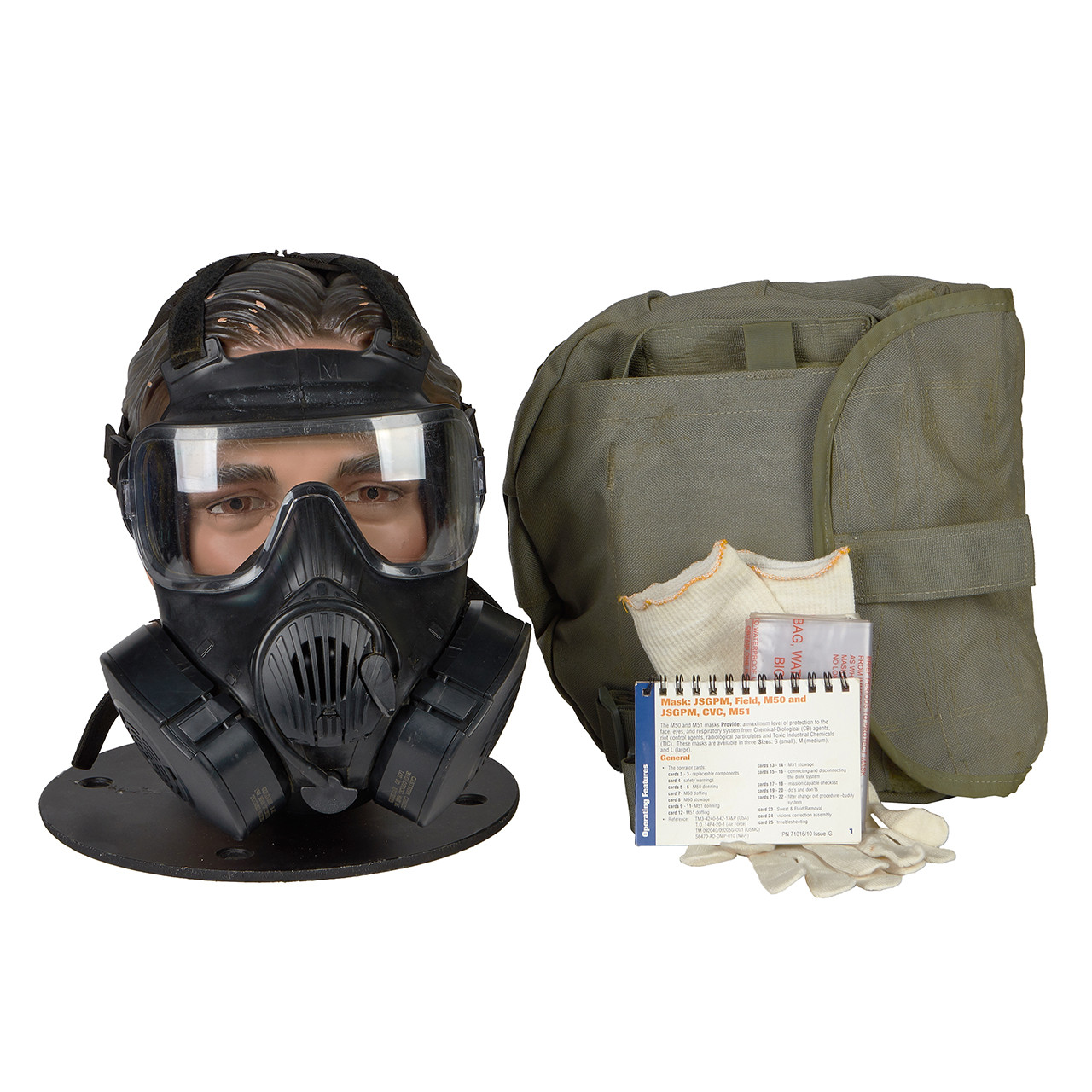 GM67 M50 SERIES G.I. ISSUE GAS MASK