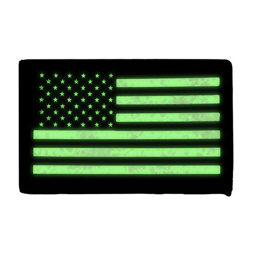52723 IR US Flag Patch, LH
