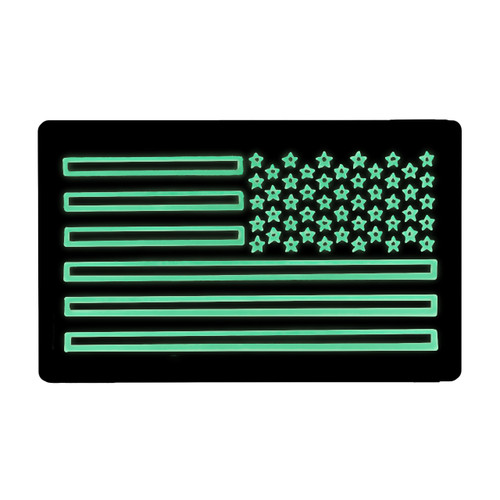 52740 US LARGE FLAG PATCH, IR/LUM, RIGHT HAND