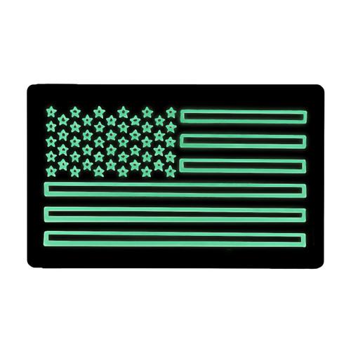 52743 US LARGE FLAG PATCH, IR/LUM, LEFT HAND