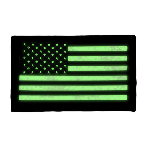 52741 LARGE US FORWARD FLAG PATCH, IR