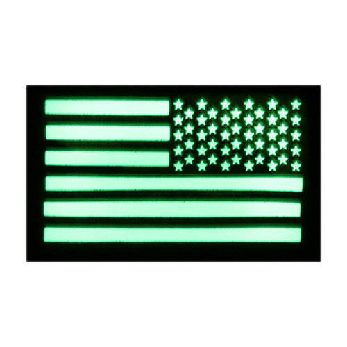 52722 US LUMINOUS FLAG PATCH, RH