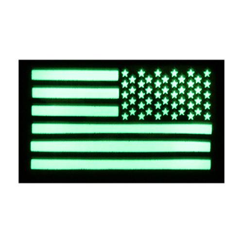 52722 US LUMINOUS FLAG PATCH, RH
