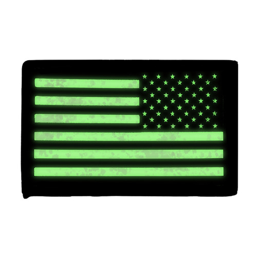 52724 IR US FLAG PATCH, RH