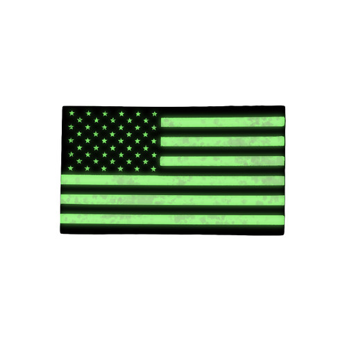 52665 U.S. FLAG PATCH, IR REFLECTIVE, LH