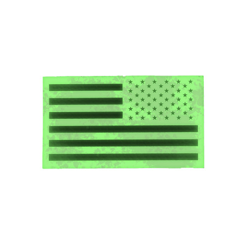 52758 U.S. FLAG PATCH, IR RELFECTIVE, RH
