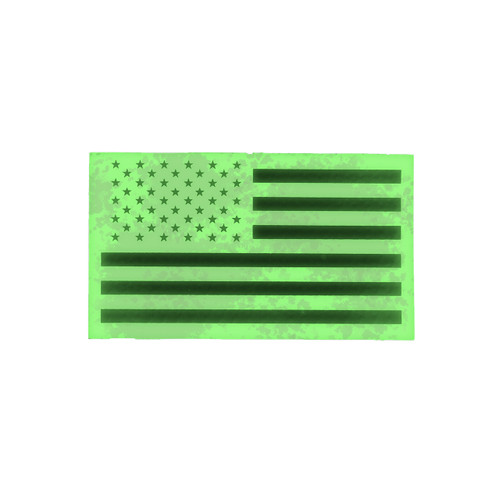 52759 U.S. FLAG PATCH, IR REFLECTIVE, LH