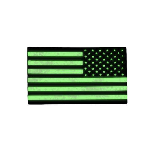 52767 U.S. FLAG PATCH, IR REFLECTIVE, RH