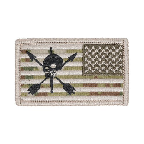 52696 SPECIAL FORCES FLAG PATCH