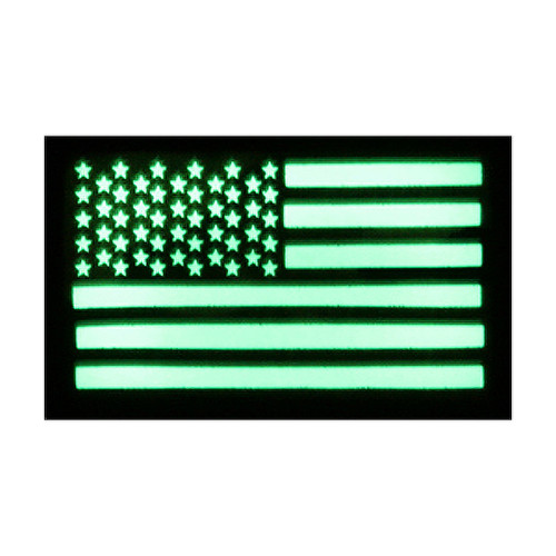 52721 US LUMINOUS FLAG PATCH, LH