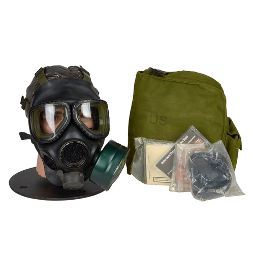 GM23 M40 SERIES G.I. ISSUE GAS MASK