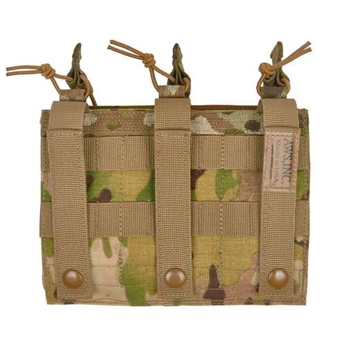 T50325 M16/M4 OPEN TOP 3 MAG POUCH