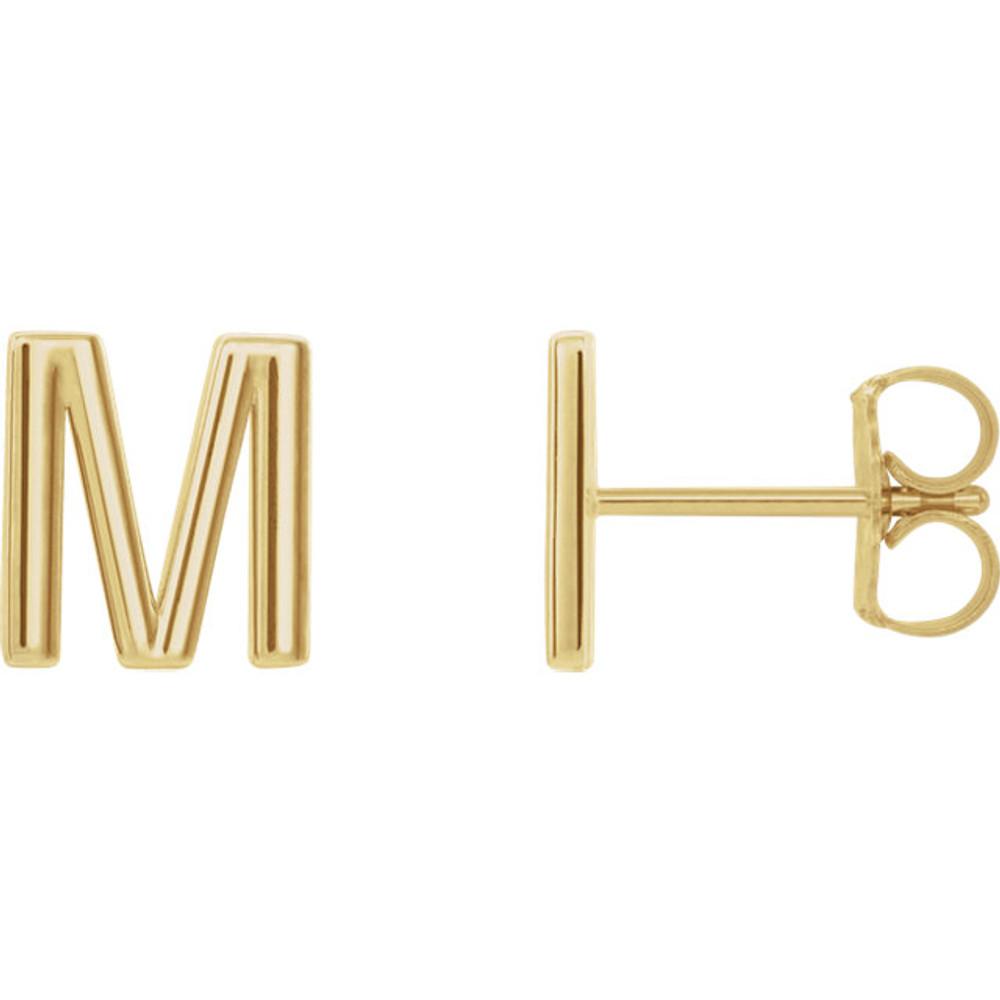 Monogram Initials in Vermeil or Gold