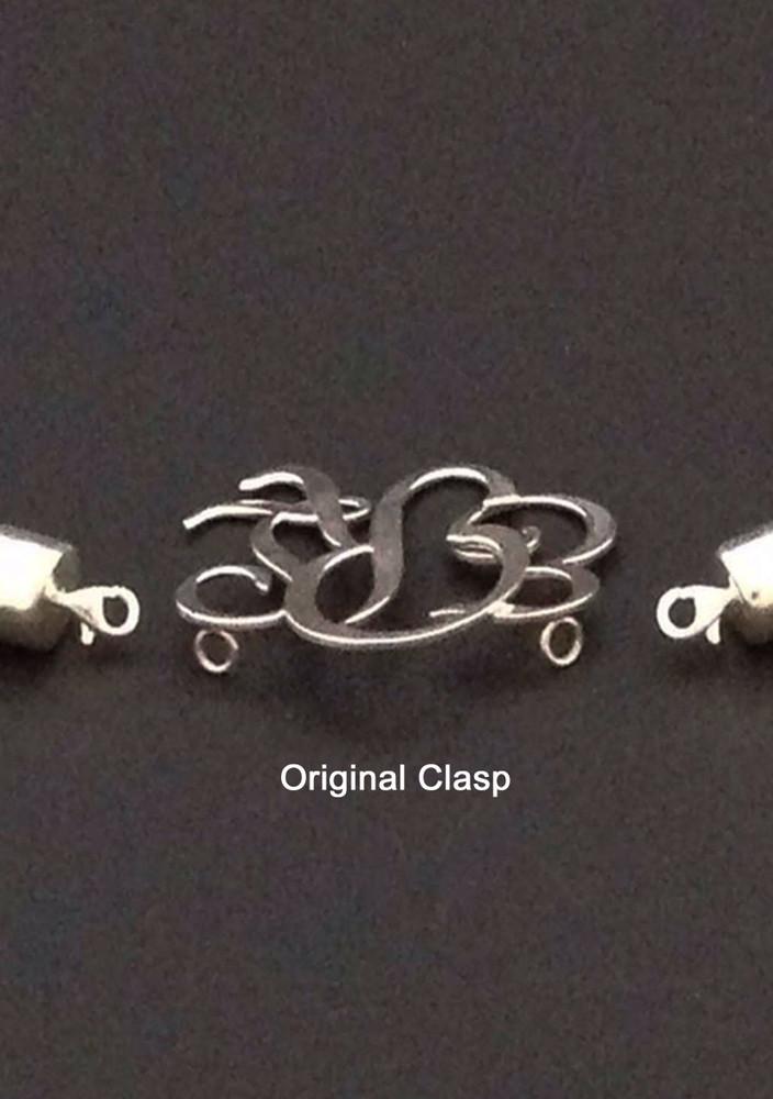 White Turquoise (Magnesite) Freeform Necklace