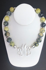 """Yellow """"Turquoise"""" Necklace"""