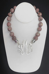 Pink Lepidolite Necklace